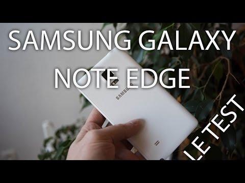 Test : Samsung Galaxy Note Edge