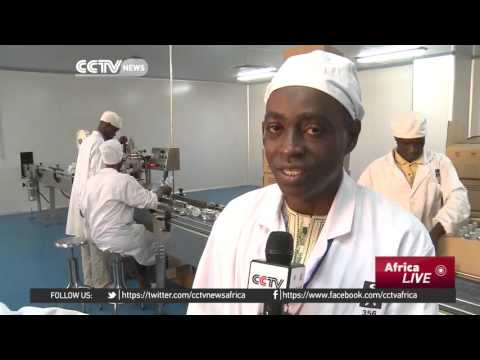 Chinese company producing medicine in Mali