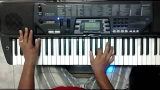 Varão de branco- Alice maciel- teclado tutorial