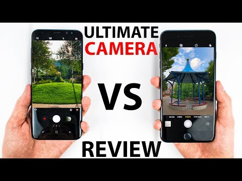 IPhone 8 Plus VS S8 Plus - CAMERA Review!