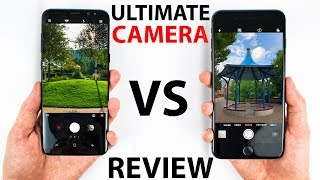 iPhone 8 Plus VS S8 Plus - CAMERA Review!