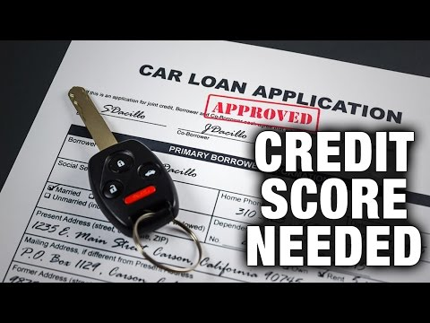 What Credit Score is Needed to Buy a Car