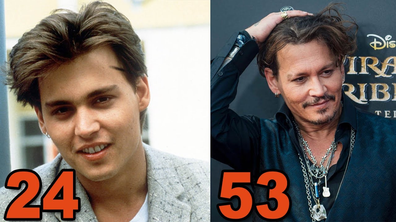 jack sparrow johnny depp before and after 2017