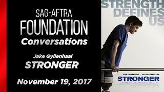 Conversations with Jake Gyllenhaal of STRONGER