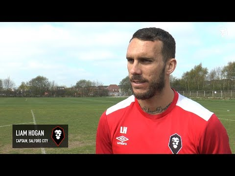 Liam Hogan pre-match interview | Salford City vs Boston United