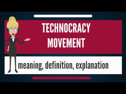 What is TECHNOCRACY MOVEMENT? What does TECHNOCRACY MOVEMENT mean? TECHNOCRACY MOVEMENT meaning