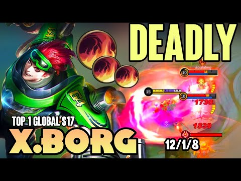 Download 100% DEADLY! XBORG BEST BUILD 2021 | TOP 1 GLOBAL XBORG GAMEPLAY | MOBILE LEGENDS✓
