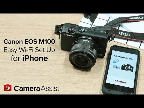 Connect Your Canon EOS M100 To Your IPhone Via Wi-Fi