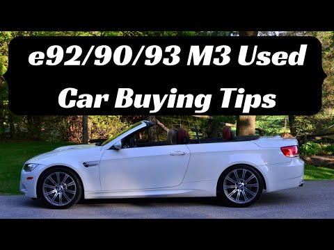 Used Car Buying Tips - BMW M3 (e92, e90, e93)