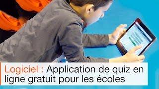 Animation d'un cours de sport avec le logiciel d'évaluation sur tablettes