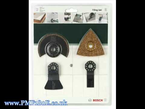 Hedendaags Bosch PMF 180 E Accessory Kits - YouTube DO-47