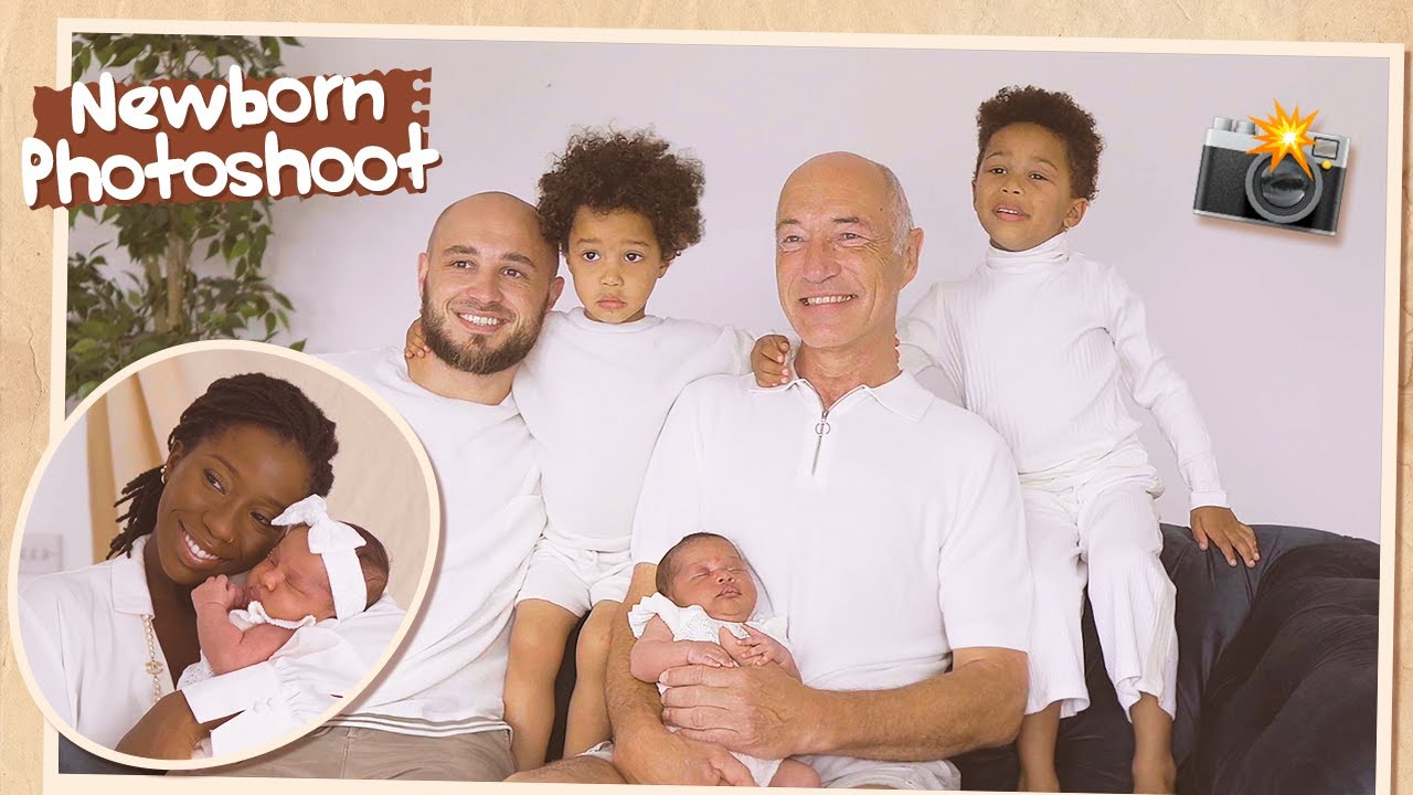 OMG...I CAN'T ❤️ OUR NEWBORN/FAMILY PHOTOSHOOT   The Adanna & David Family