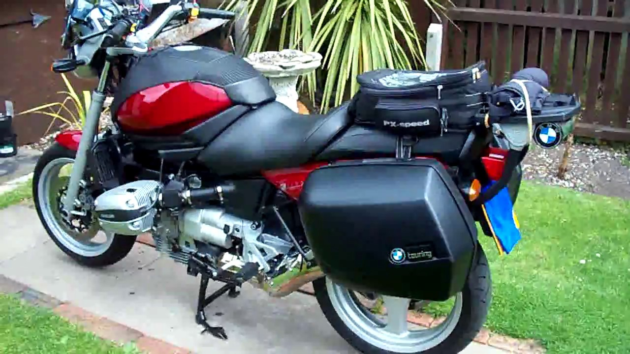 medium resolution of bmw r1100r how to lock your panniers on y bike
