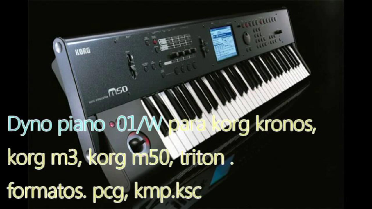 sonidos pcg para korg m50