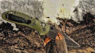 Полевой тест ножа Benchmade Griptilian | Blade HQ на русском | Перевод Zёбры