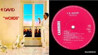 Скачать F R David Words Vinyl LP Album 1982