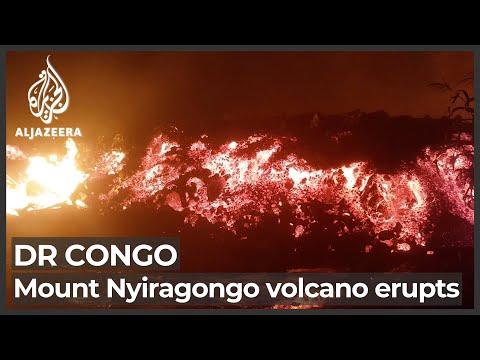 DR Congo orders Goma evacuation after Mount Nyiragongo erupts