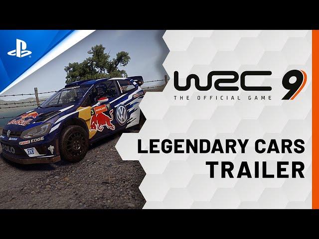 WRC 9 - Legendary Cars Trailer | PS4, PS5