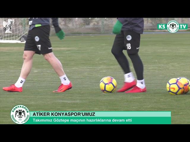 Takımımız Göztepe maçının hazırlıklarına devam etti