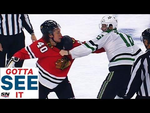 GOTTA SEE IT: Most Insane Shift Of NHL Season Has Hit, Fight, Broken Skate & A Goal