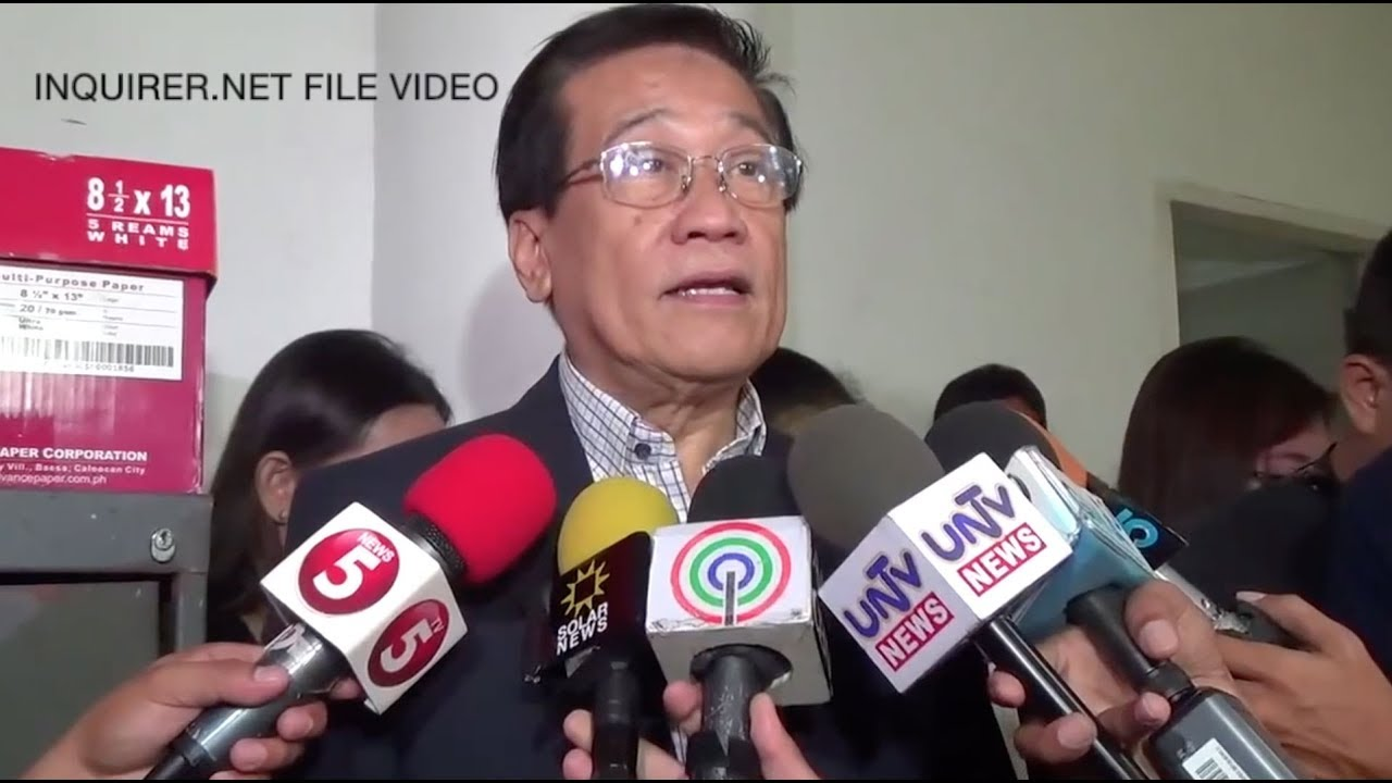 Pangilinan: Election lawyer Macalintal to run for senator in 2019 polls