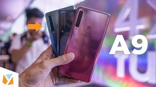 Samsung Galaxy A9 2018 Hands-on Review - World