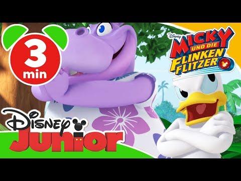 Micky und die flinken Flitzer - Clip: Hula-Tanz   Disney Junior