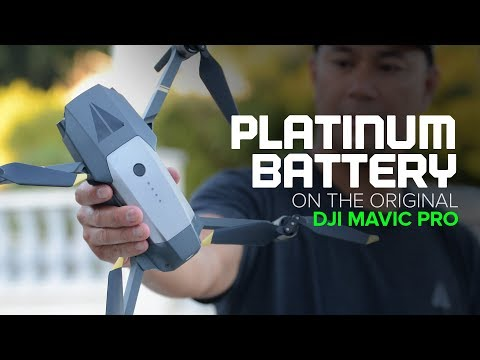 Does it Work? DJI Mavic Pro Platinum Battery on the Original Mavic Pro
