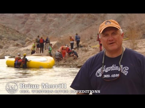 Colorado River Grand Canyon River Guide Training