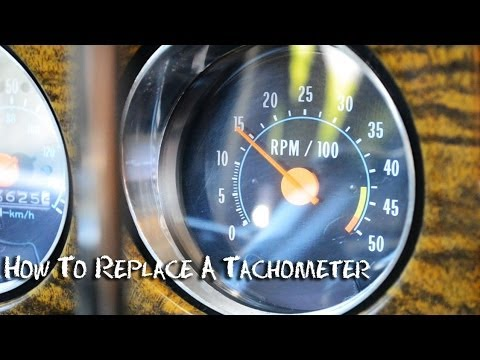 ✇ Tachometer How To Install Wire or Replace  Half Idiots Guide