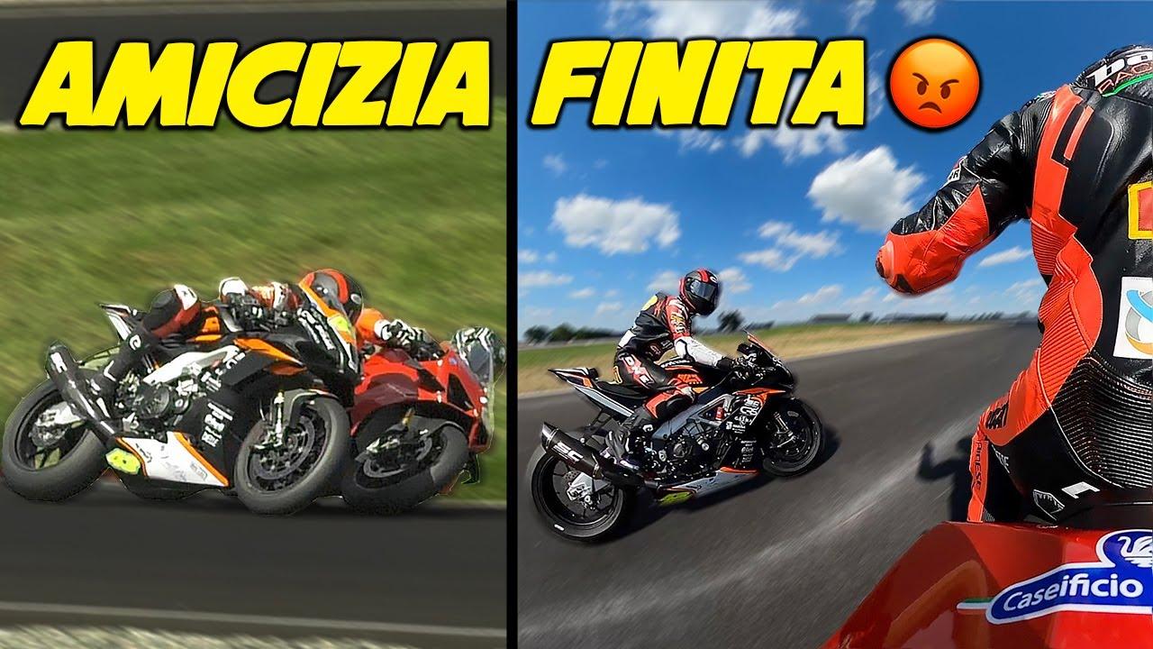 """UN' AMICIZIA FINITA! 😡 """"PROGETTO DUCATI V4S DI SERIE"""" EP.3 (GARA)"""
