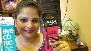 Review : Lakme Eyeconic White Kajal & Loreal Kajal Magique Liner Thumbnail