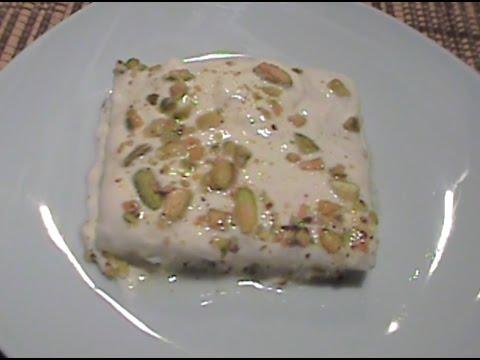 Layali Lebnan (Milk Semolina Dessert)
