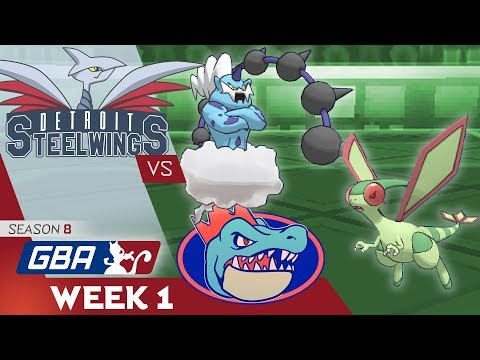 A NASTY PLOT TO DANCE! • Detroit Steel Wings vs Florida Gatrs GBA W1 • Pokemon Ultra Sun and Moon