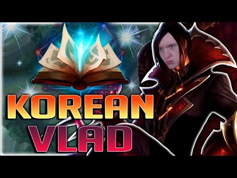 NEW KOREAN VLADIMIR BUILD!! HOW TO PLAY VLADIMIR IN SEASON 8 - League of Legends
