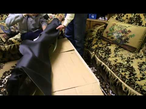 Cмотреть видео Перетяжка торпеды ваз 2106