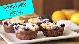 Blueberry Lemon Mini Pies