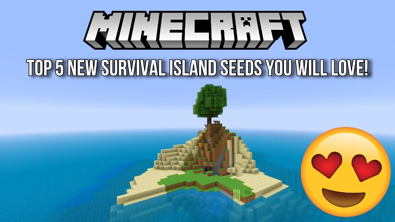 Minecraft - Top 5 New Survival Island Seeds You Will LOVE! 😍(Minecraft  PS4, Xbox One, PS3,Xbox 360)