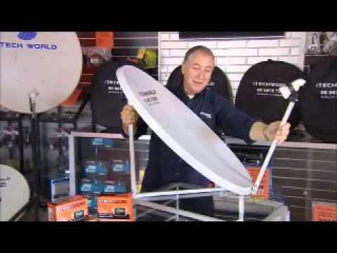 85cm Folding iTech World Satellite TV Dish Sale