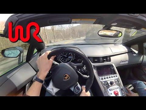 We Drive DoctaM3's 2014 Lamborghini Aventador LP720-4 50º Anniversario!