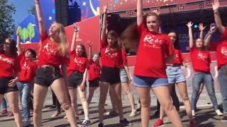 K-POP FLASHMOB IN RUSSIA [FIFA WORLD CUP 2018] #KPOPINPUBLIC