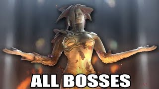 Resident Evil: The Darkside Chronicles HD - All Bosses (With Cutscenes) PS3
