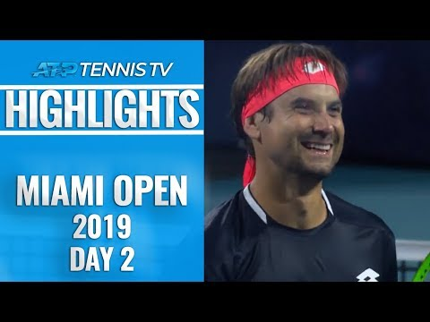 Ferrer rolls back the years; Auger-Aliassime continues strong 2019 | Miami 2019 Day 2 Highlights