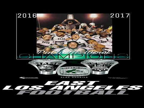 East Los Angeles College (2016-2017) Patriotic Bowl Champions -53 Days Left-