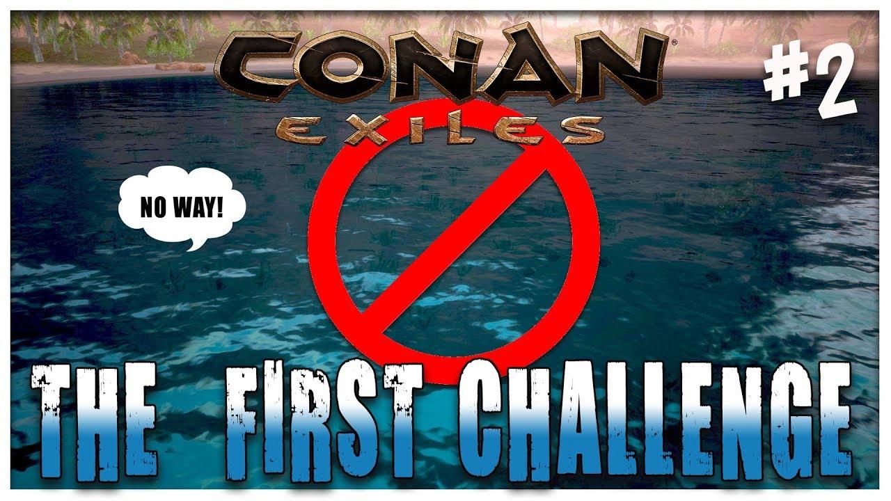 THE FEAR - Diary of an Exile - CONAN EXILES #2