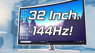 Viewsonic XG3202-C Review - 32 Inches Of Budget 144hz Monitor!