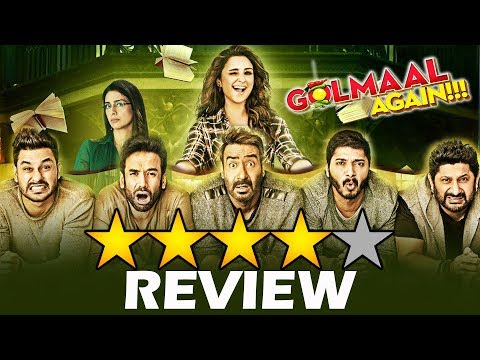 Golmaal Again Review - Best Comedy Film Of 2017 - Ajay Devgn, Parineeti, Tabu, Arshad Warsi