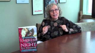 Eva Stachniak about Empress of the Night