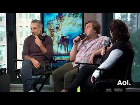 Jack Black And Rob Letterman On Meeting R. L. Stine | AOL BUILD