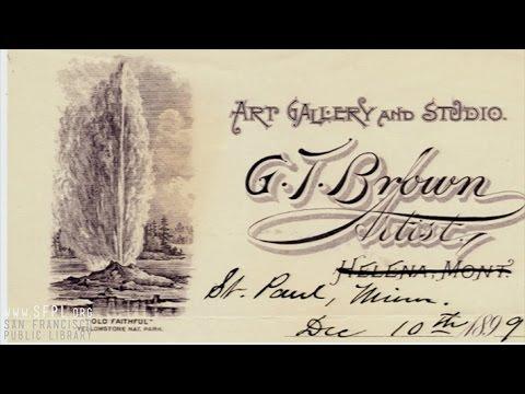 """""""Grafton Tyler Brown"""" by Robert J. Chandler at SFPL"""